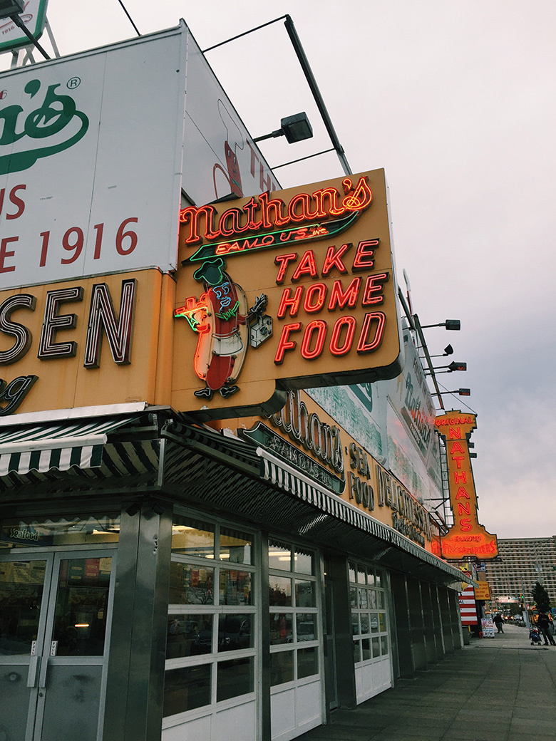 Nathan's Famous Hot Dogs & Restaurants