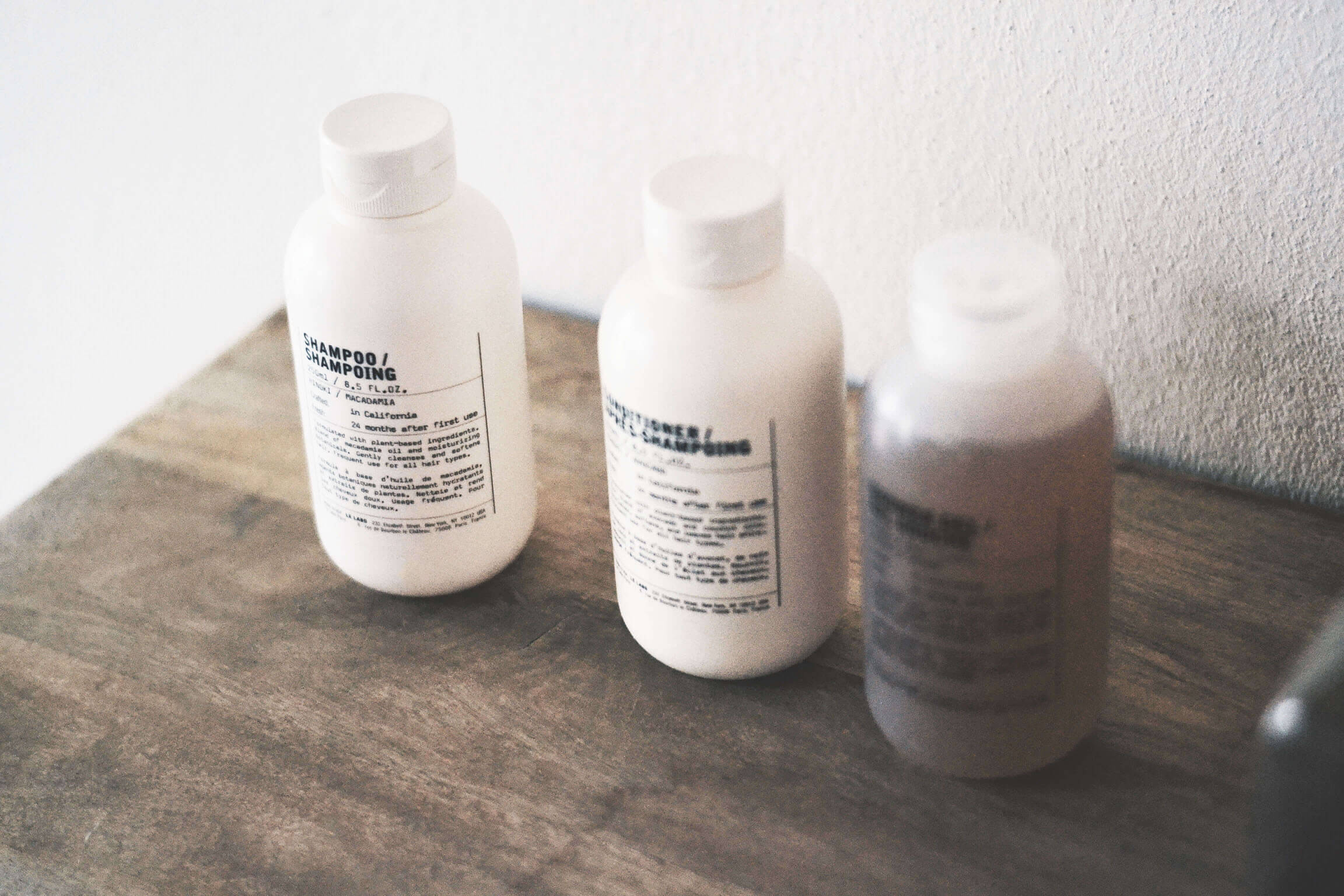 Le Labo's New Hair and Body Care
