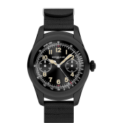 Montblanc Summit Smartwatch - Black Steel Case with Black Rubber Strap