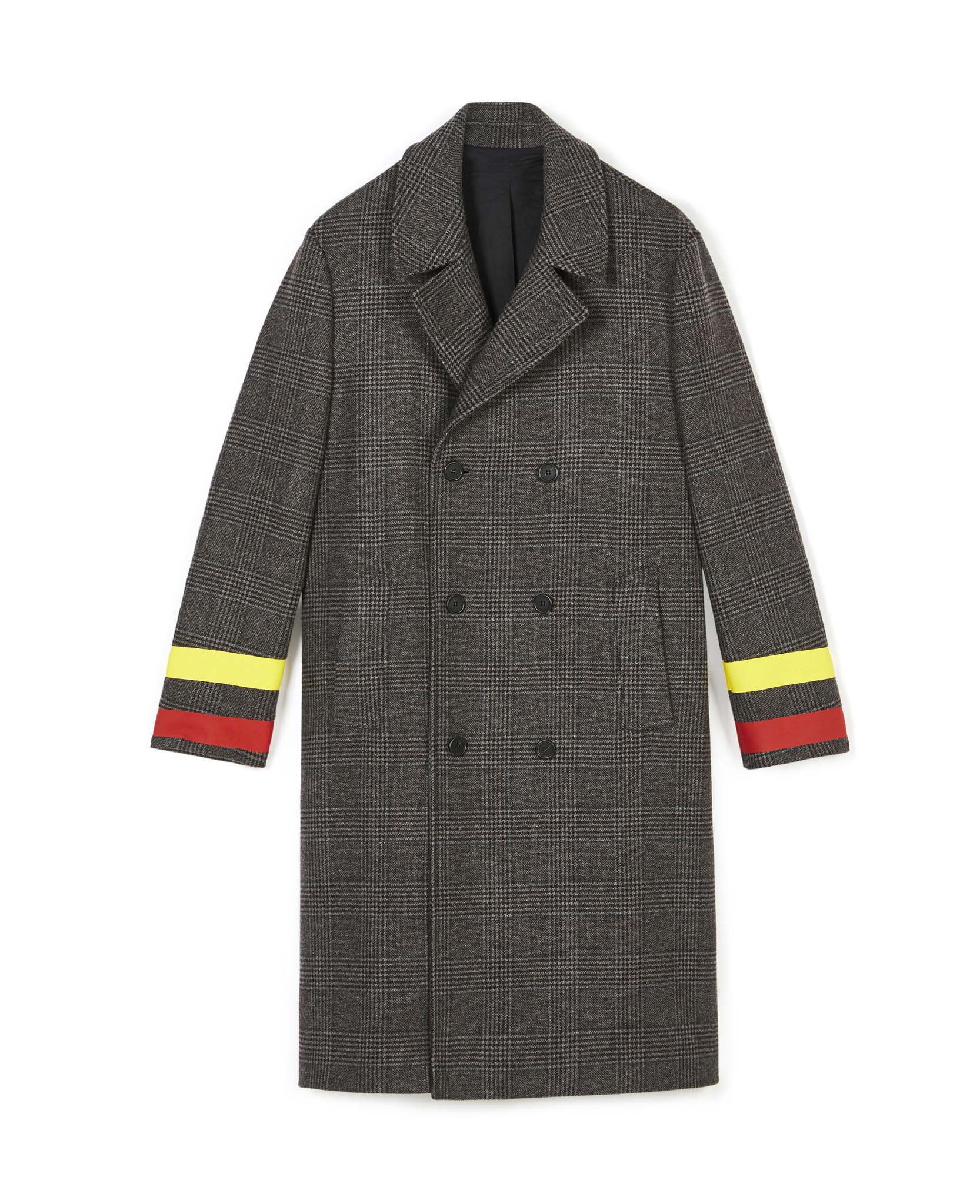 Stella Mc Cartney Check Coat Men's Collection