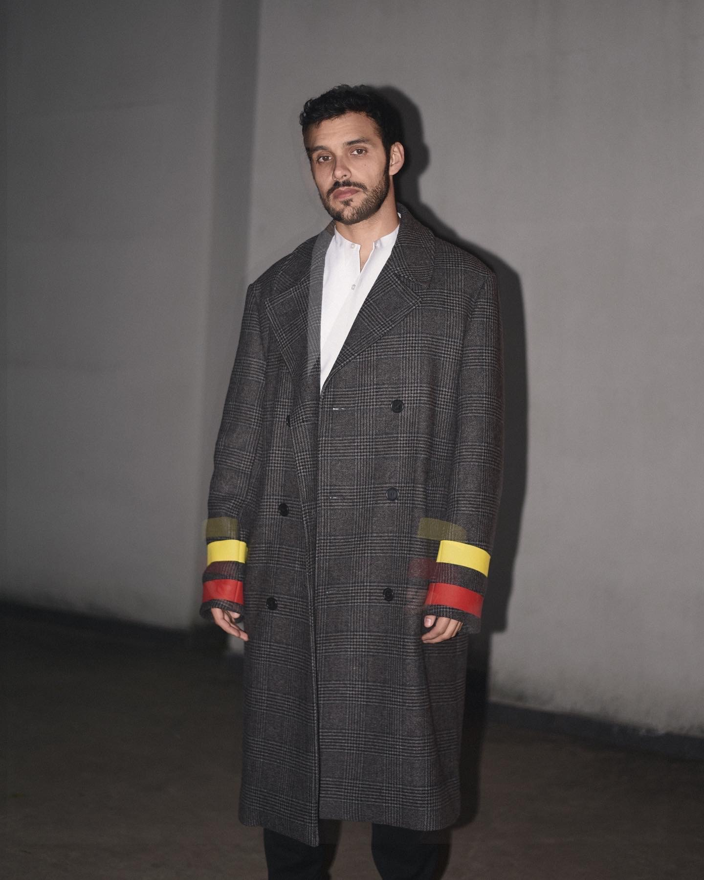 Manuel Otgianu Stella Mc Cartney Men's Collection Coat